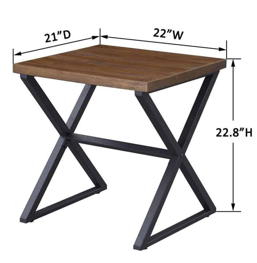 Art coffee table detail
