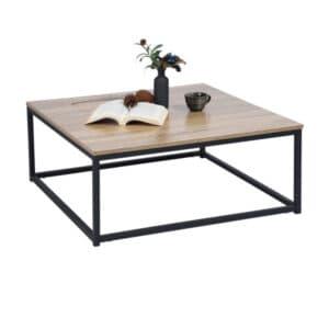 retro coffee table detail